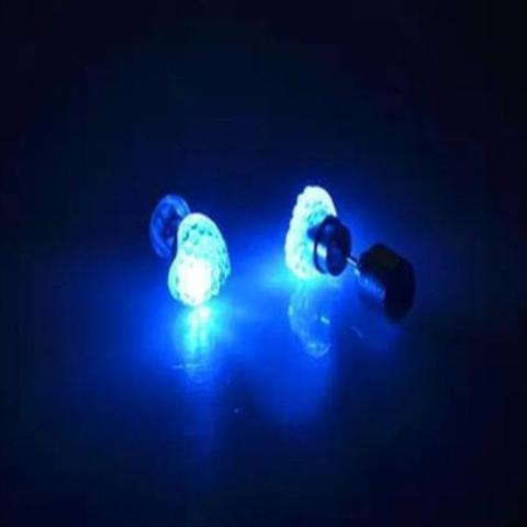 LED Heart-shaped Earrings - DriftOwl