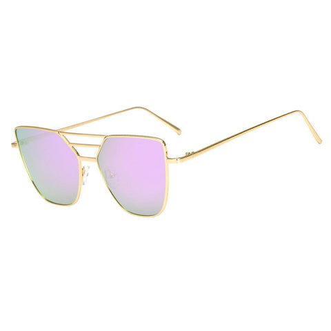 Vintage Aviator Fashion Mirror Glasses - DriftOwl