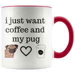 coffee and my pug mug - DriftOwl