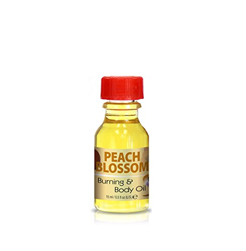 Burning & Body Oil - Peach Blossom .5 oz.