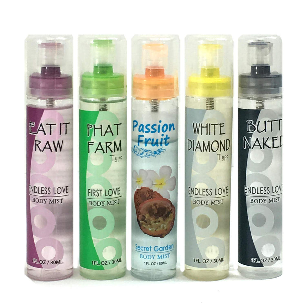 Difeel Endless Love Body Mist 10-PC Gift Set