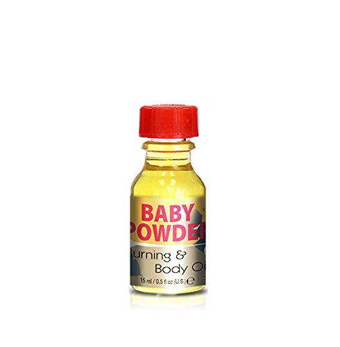 Burning & Body Oil - Baby Powder .5 oz.