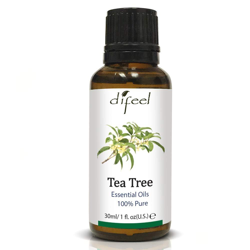 Difeel Essential Oil 100% Pure Tea Tree Oil 1 oz.  (Pack of 2)