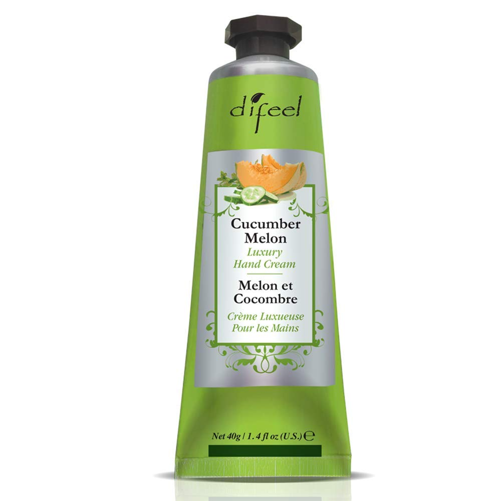 Difeel Luxury Moisturizing Hand Cream - Cucumber Melon 1.4 oz.