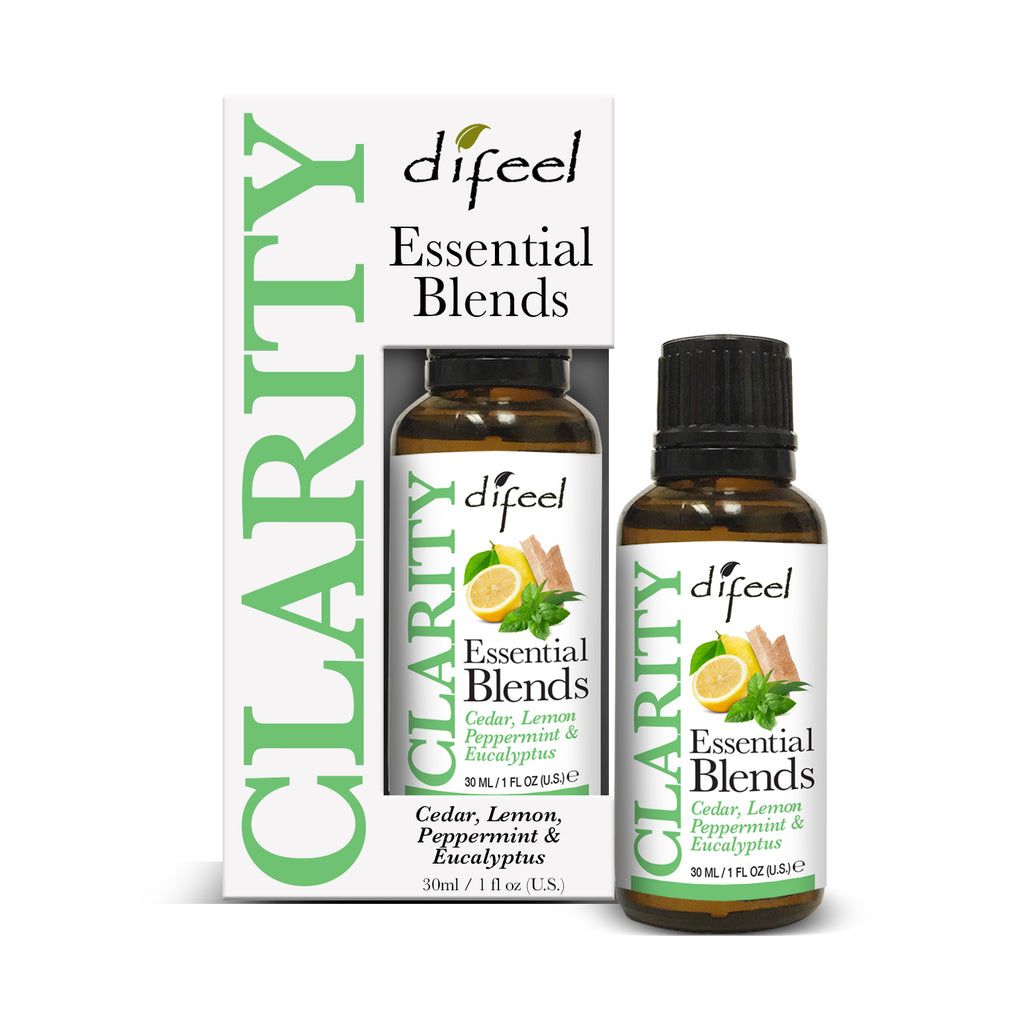 Difeel 100% Natural Essential Oil Blends - Clarity 1 oz.