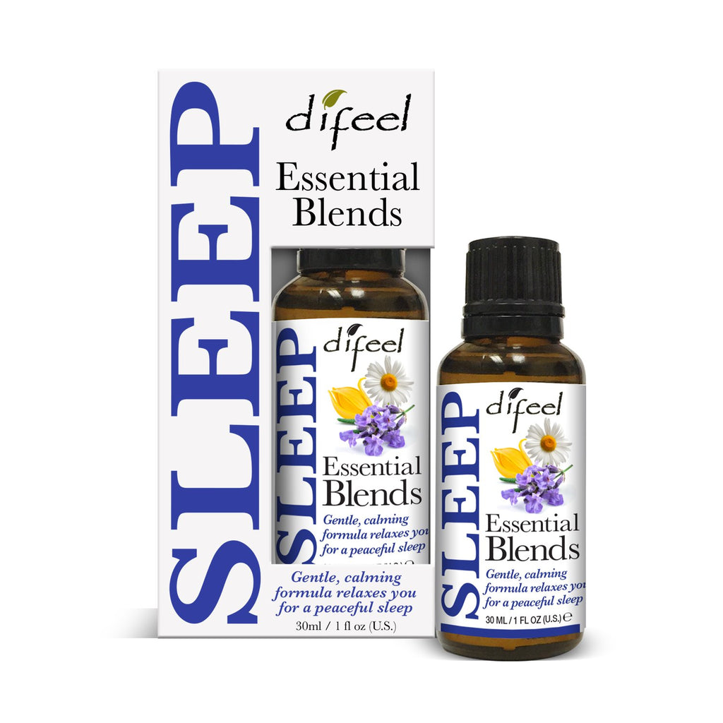 Difeel 100% Natural Essential Oil Blends - Sleep 1 oz.  (Pack of 2)
