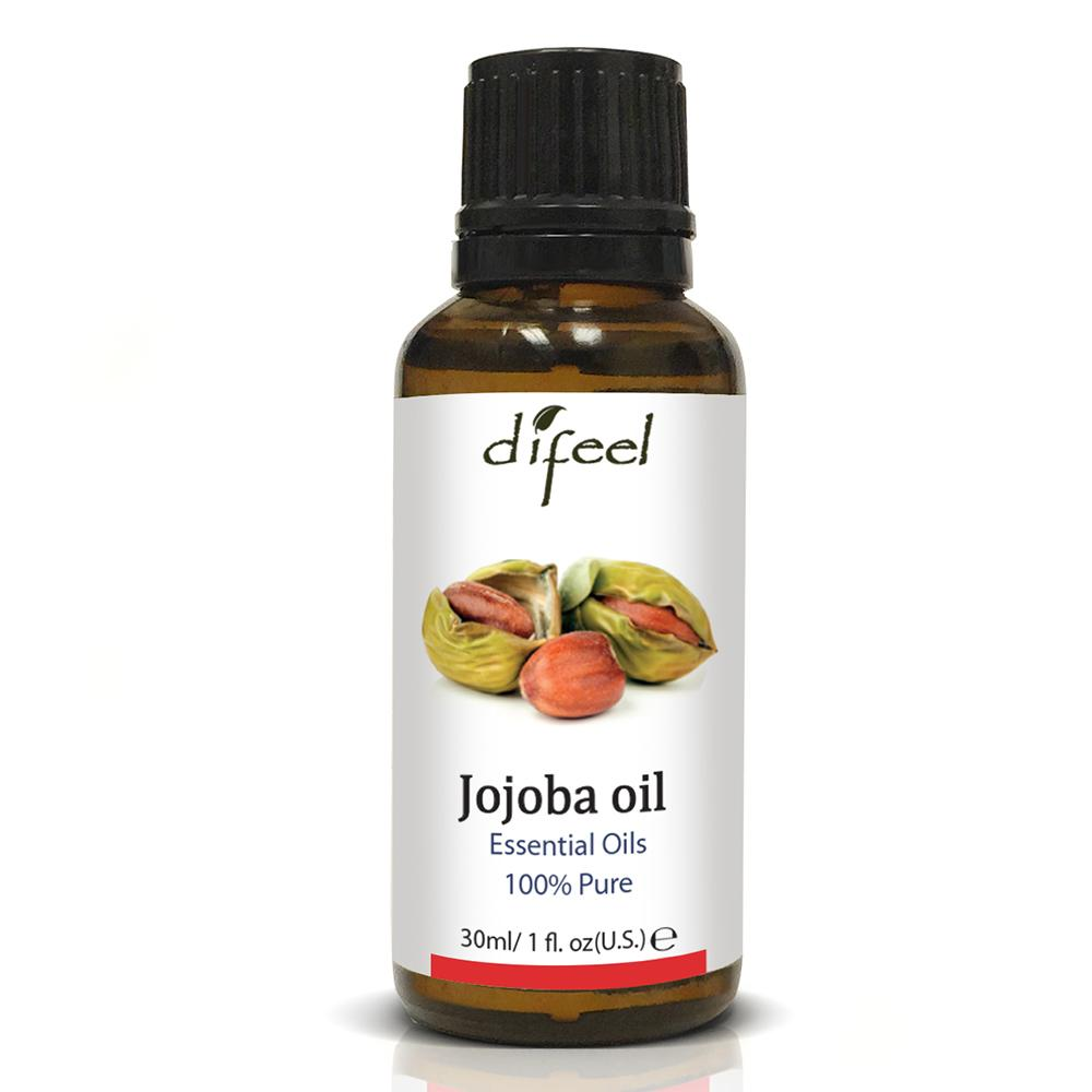 Difeel Essential Oil 100% Pure Jojoba Oil 1 oz.  (Pack of 2)