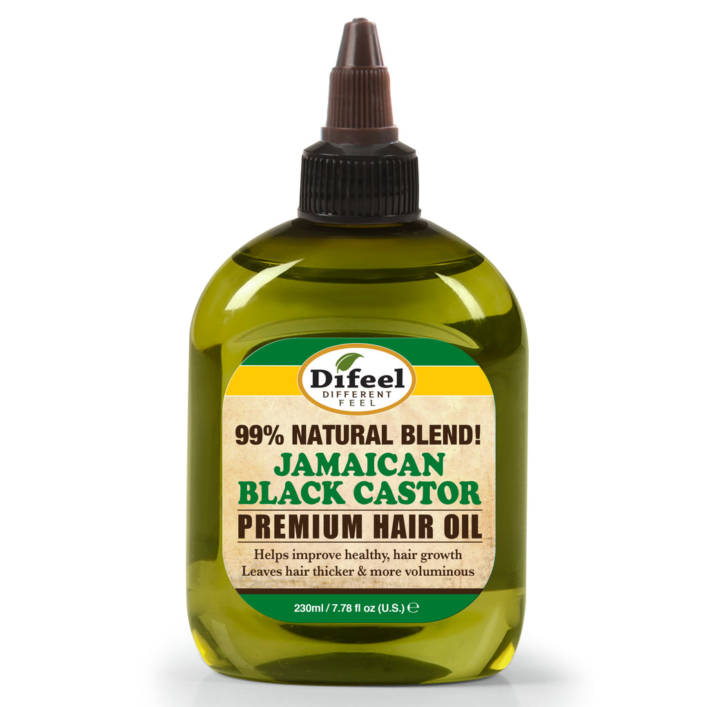 Difeel 99% Natural Premium Hair Oil - Jamaican Black Castor Oil 7.78 oz.