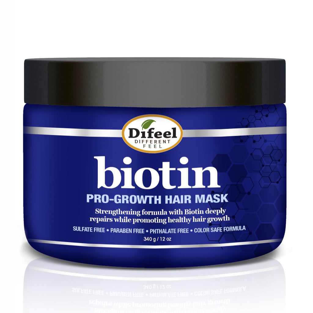 Difeel Pro-Growth Biotin Hair Mask 12 oz. (Pack of 2)