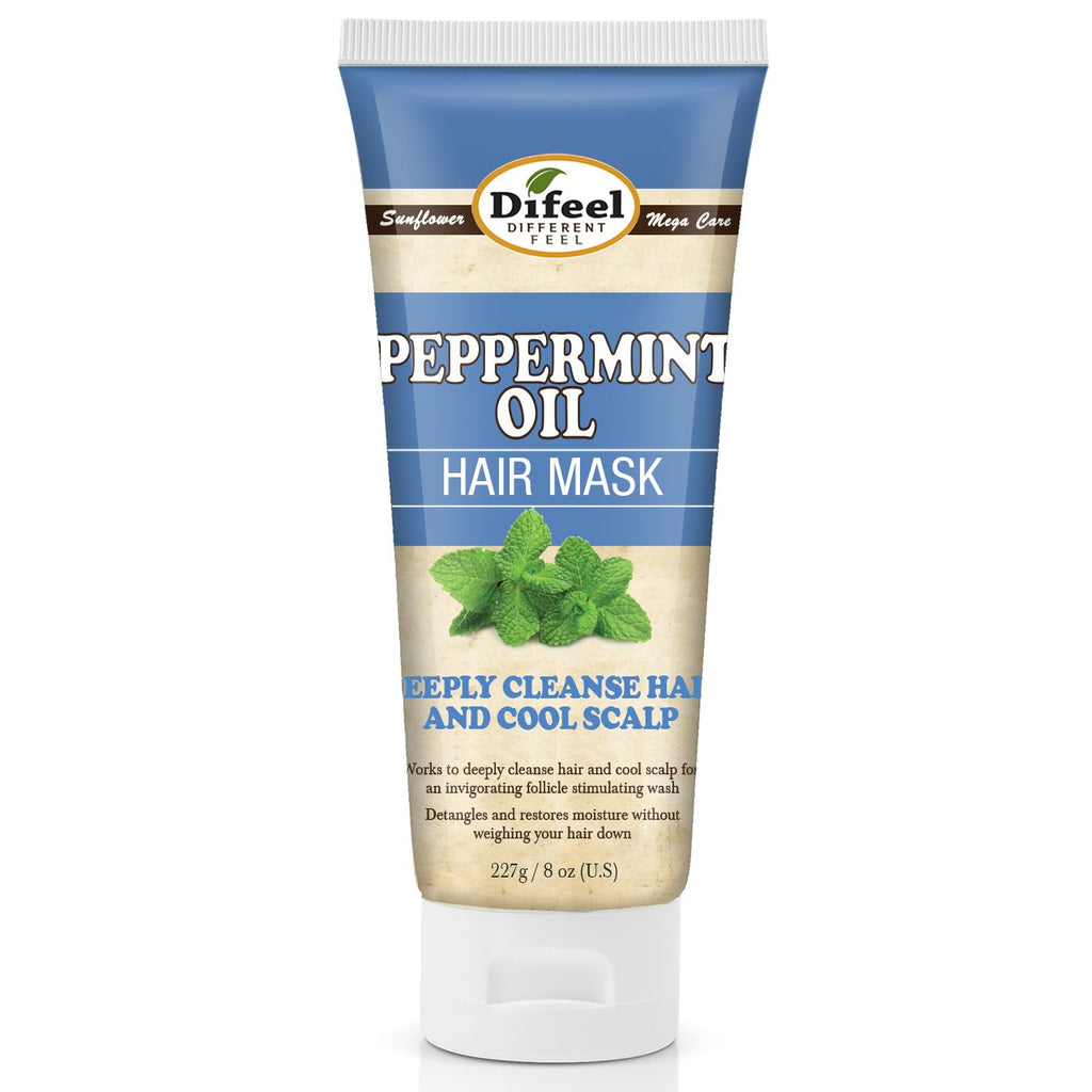 Difeel Peppermint Oil Hair Mask 8 oz. (Pack of 2)