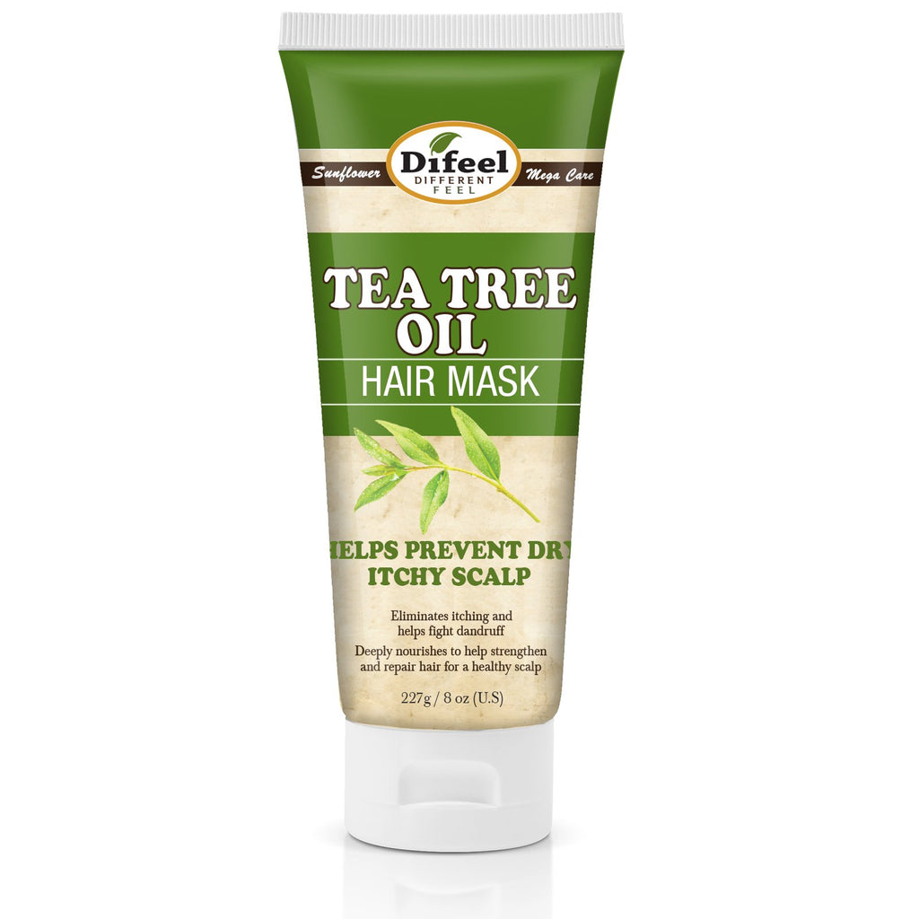 Difeel Tea Tree Oil Hair Mask 8 oz. (Pack of 2)