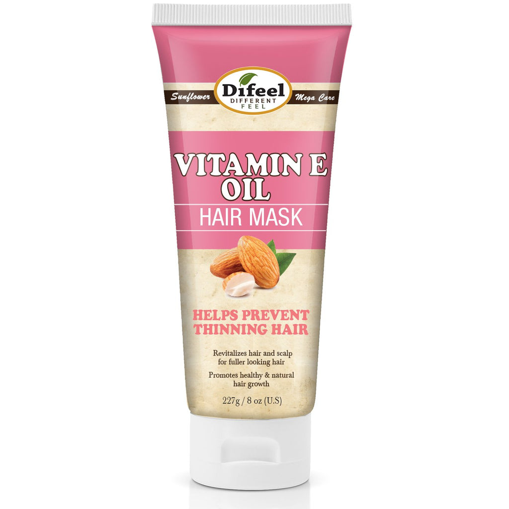 Difeel Vitamin E Oil Hair Mask 8 oz. (Pack of 2)