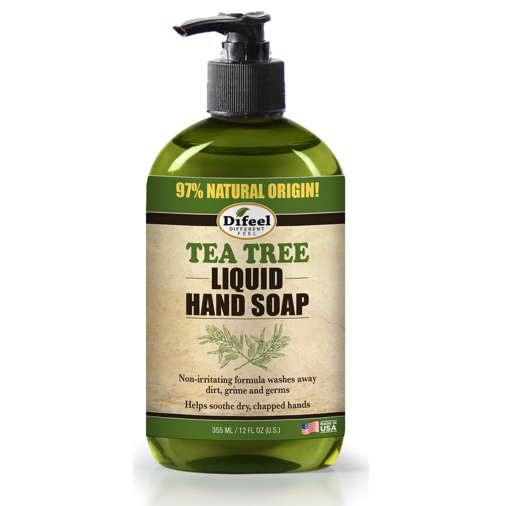 Difeel Tea Tree Liquid Hand Soap 12 oz.