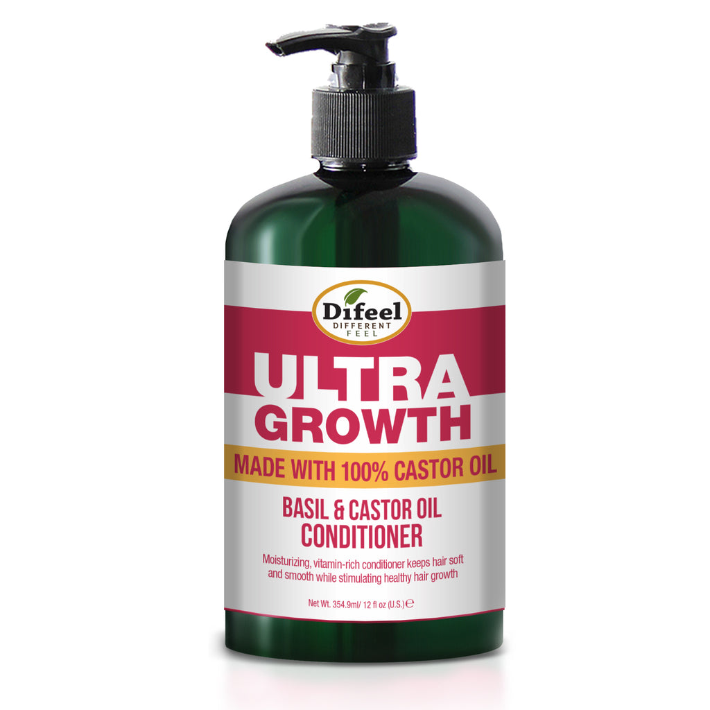 Difeel Ultra Growth Basil & Castor Oil Pro Growth Conditioner 12 oz.