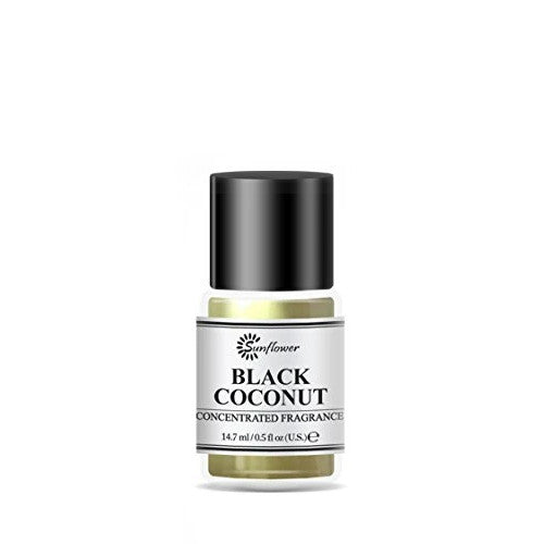 Black Top Body Oil - Black Coconut .5 oz.