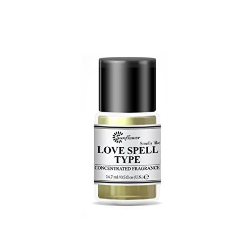 Black Top Body Oil - Love Spell .5 oz. (PACK OF 2)