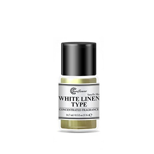 Black Top Body Oil - White Linen .5 oz.