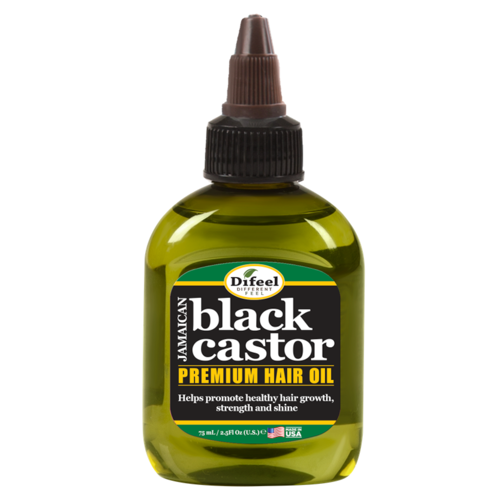 Difeel Superior Growth Jamaican Black Castor Premium Hair Oil 2.5 oz.