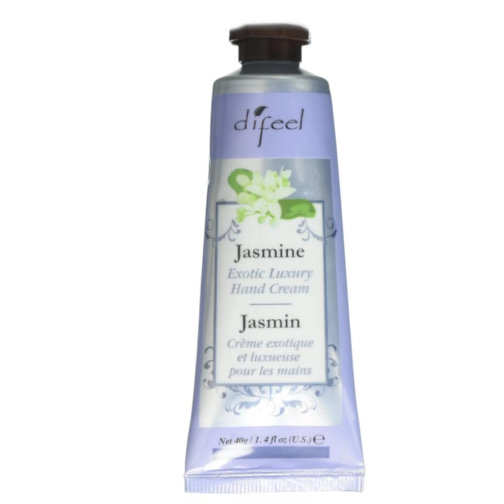Difeel Luxury Moisturizing Hand Cream - Jasmine 1.4 oz. (PACK OF 2)