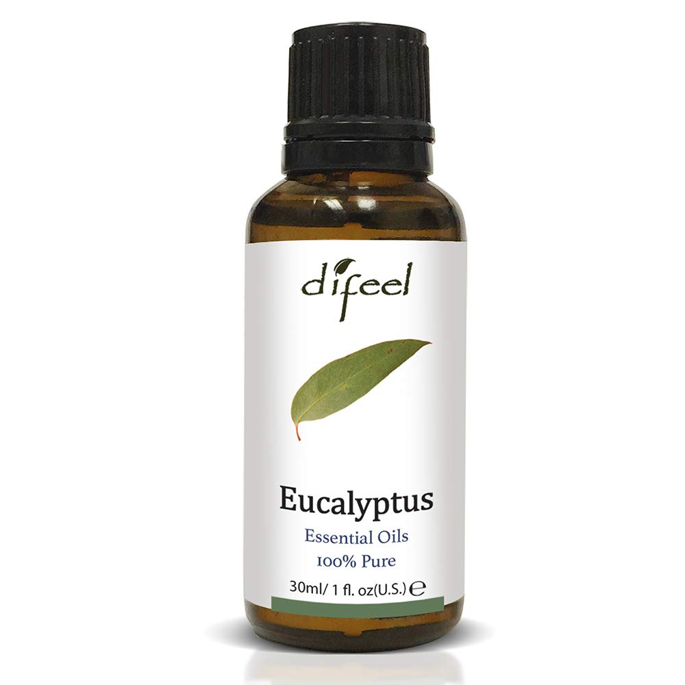 Difeel Essential Oil 100% Pure Eucalyptus Oil 1 oz.