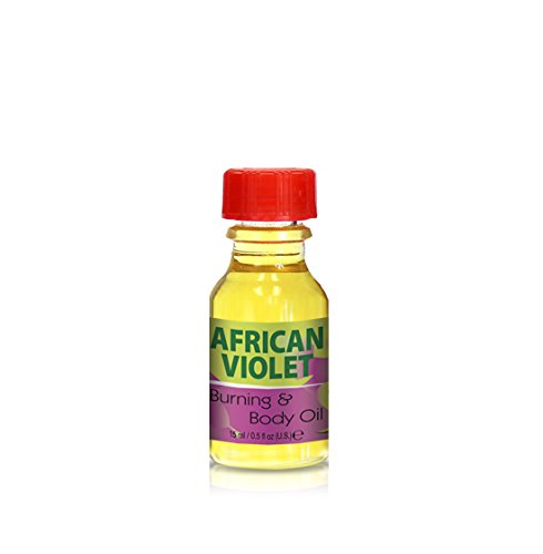Burning & Body Oil - African Violet .5 oz.