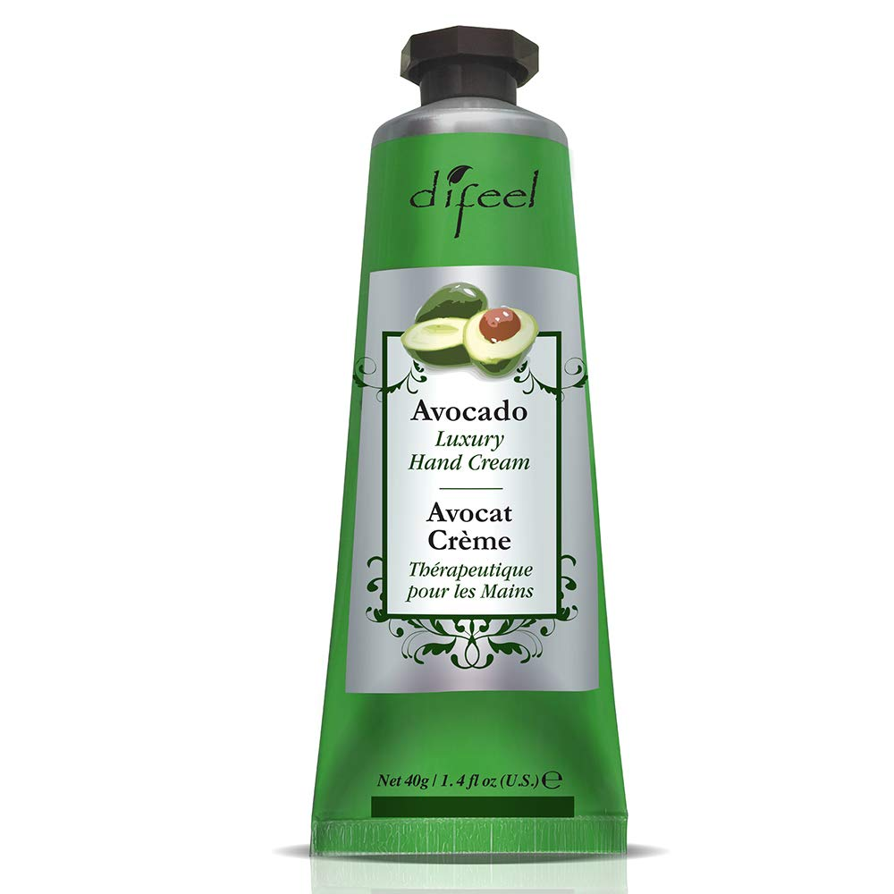 Difeel Luxury Moisturizing Hand Cream -Avocado Oil 1.4 oz.