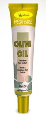 Difeel Mega Care Hair Oil - Olive Oil 1.4 oz. (PACK OF 2)