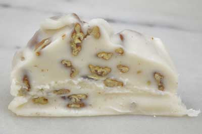 Vanilla Pecan Fudge