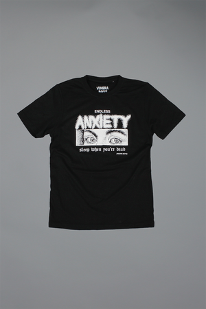 ENDLESS ANXIETY T-SHIRT / BLACK