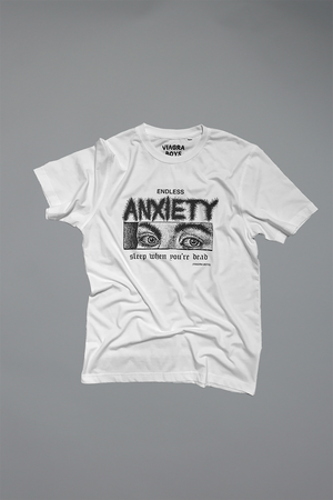 ENDLESS ANXIETY T-SHIRT / WHITE