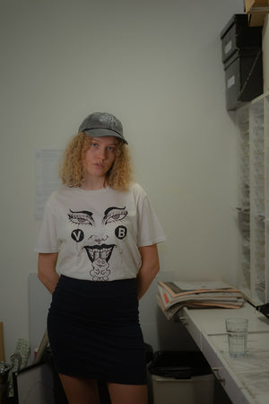 FACE T-SHIRT / WHITE
