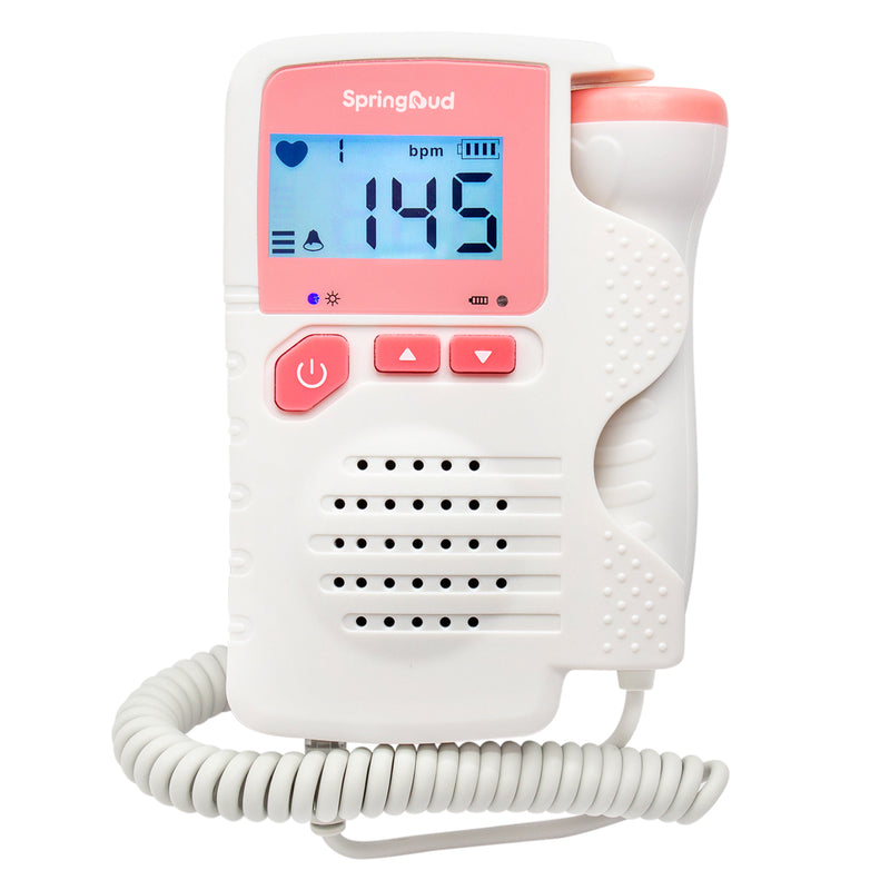 SpringBud FD-200B Fetal Doppler Heart Beat Monitor