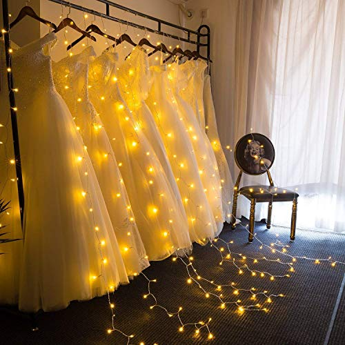 Christmas Decoration Curtain Lights - 300 LEDs