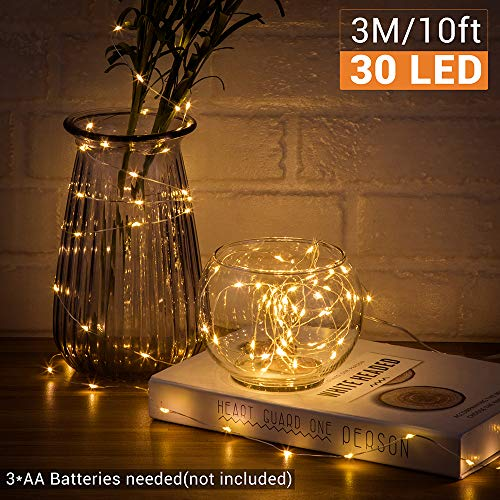 10FT 30LEDs Battery Operated Fairy Lights