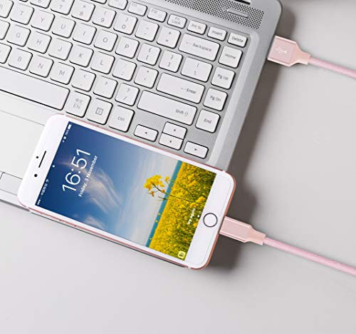 3 Pack 6FT iPhone Cable - Pink