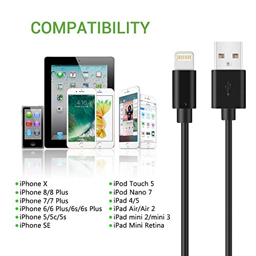iPhone Charger Cable - Black