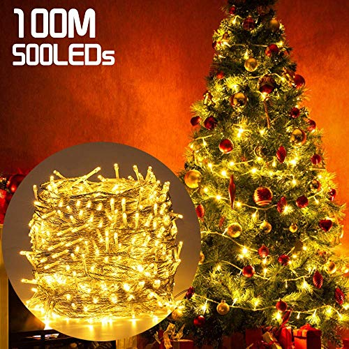 328FT 500 LEDs Christmas Decorative Lights