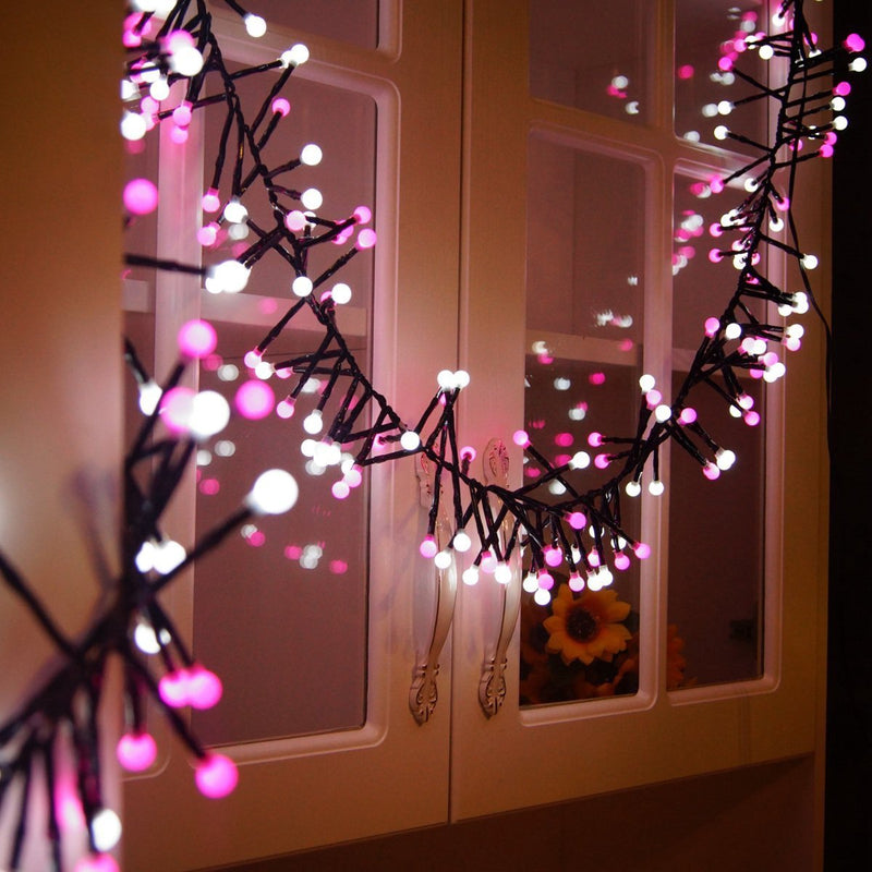 10FT 400 LED Valentines Day & Christmas Waterproof Decorative Fairy Globe String Lights