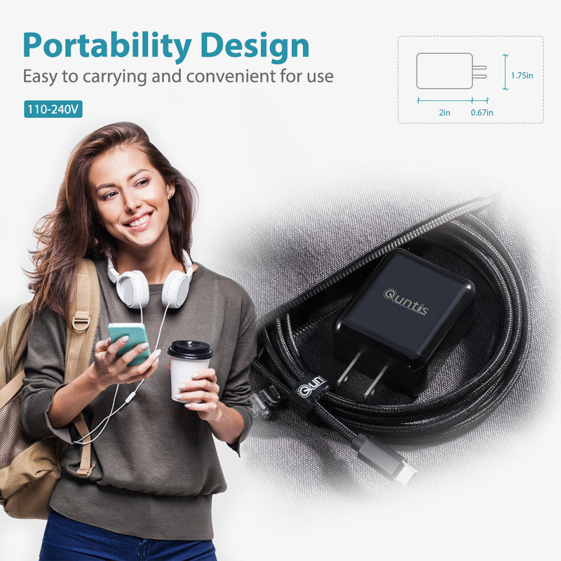 iPhone Fast Charger - Black