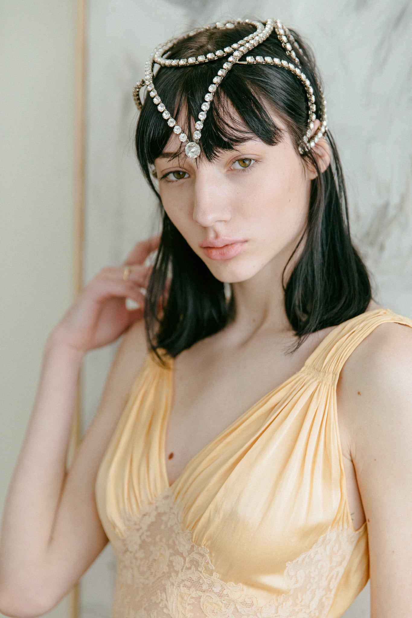 Antique 1920s Flapper headpiece