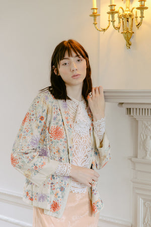 Antique silk jacket