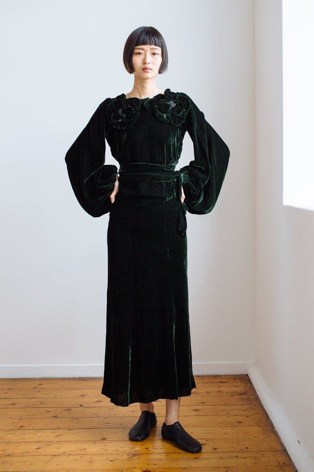 1930s Mildred Davis gown set