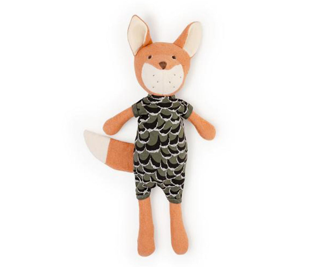 Hazel Village Reginald Fox in Adventure Romper