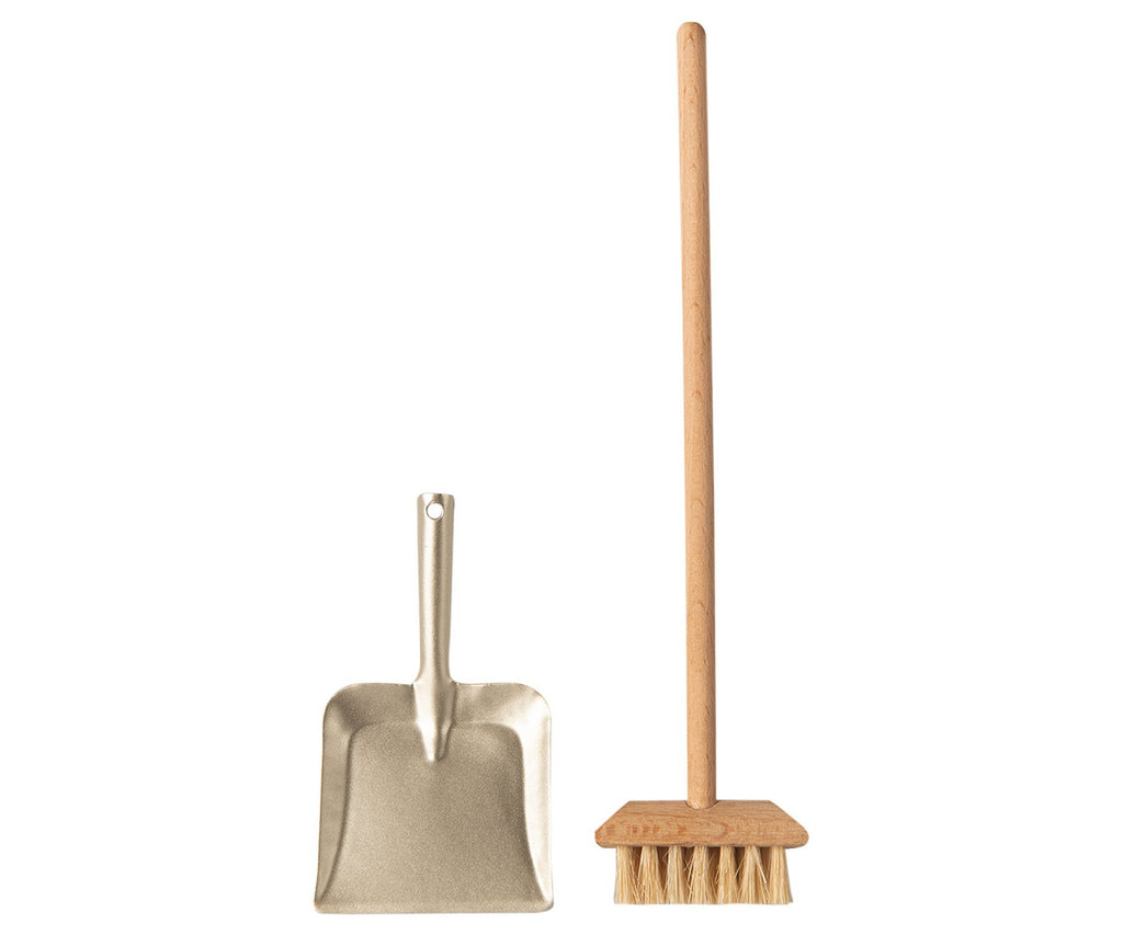 Maileg Miniature Broom Set