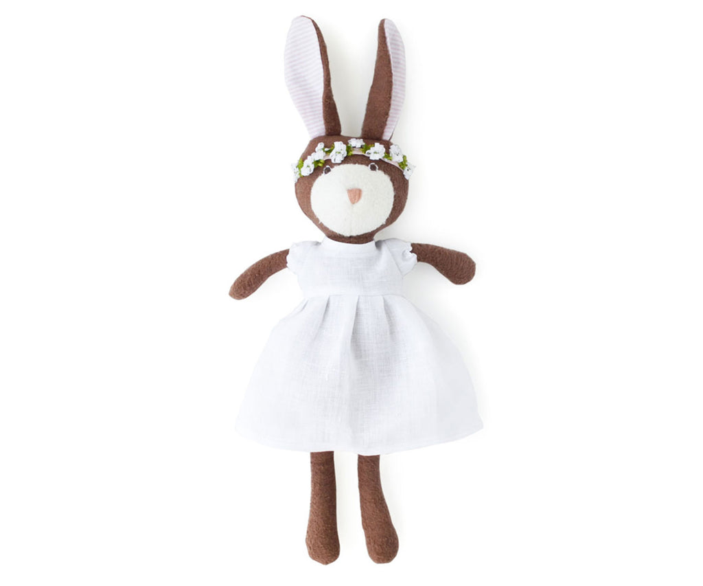 Hazel Village Zoe Rabbit in Spring Dress - Bijou Lifestyle
