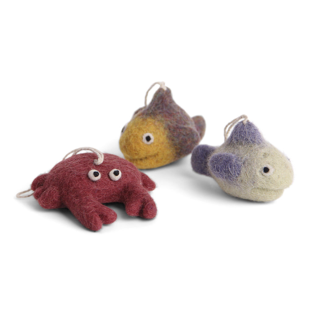 En Gry & Sif Crab & Fish Set