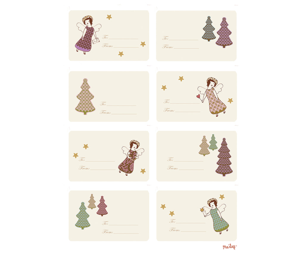 Maileg Set of Christmas Stickers
