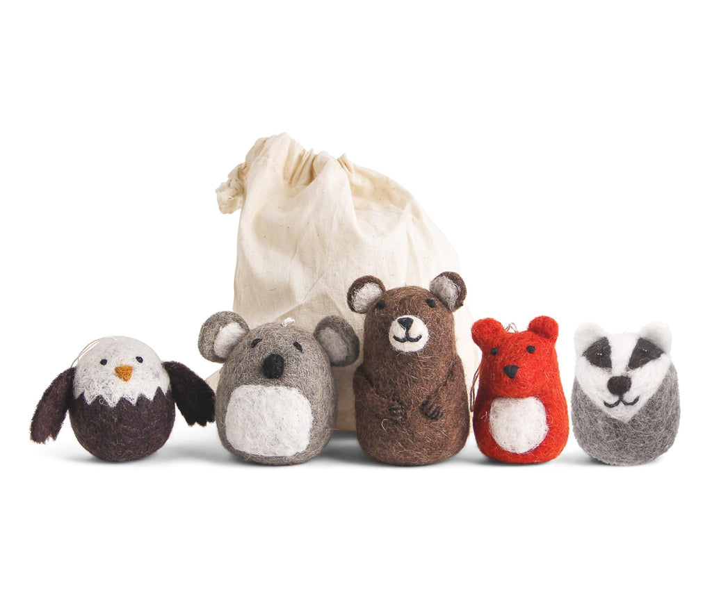 En Gry & Sif Set of Five Wild Animals