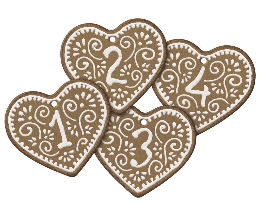 Maileg Set of 4 Gingerbread Gift Tags