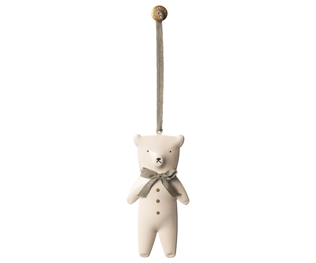 Maileg Metal Bear Ornament